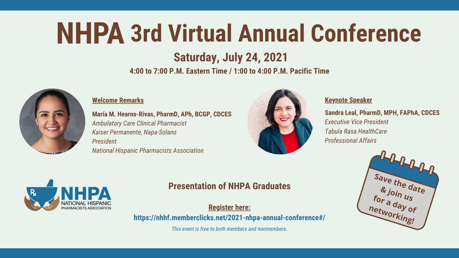 NHPA Conference Flyer